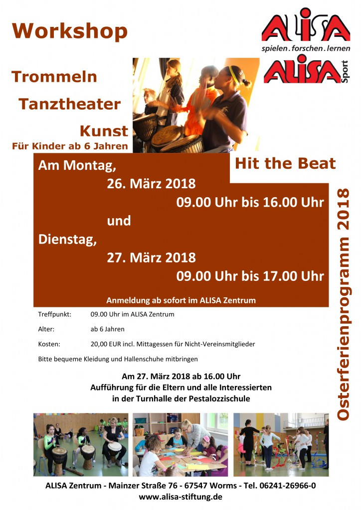 Trommel-Workshop 27.03. und 28.03.2018 jpeg