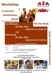 Trommel-Workshop 28.03. und 29.03.2017 - Kirn