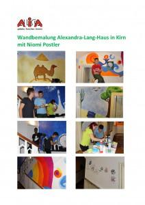 Wandbemalung Alexandra-Lang-Haus