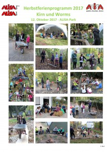 Zusammenfassung Herbstferienprogramm 12.10.2017 - Tag 4 - ALISA-Park
